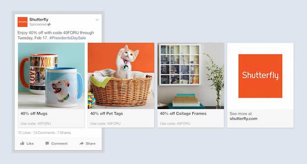 Product ads-Facebook