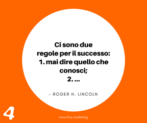 FOUR.MARKETING - ROGER H. LINCOLN